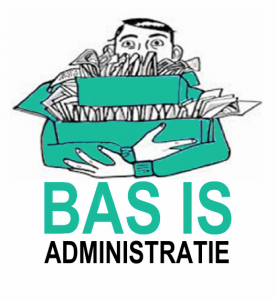 Basis administratie logo 1 in groen